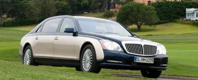 2) Mercedes-Benz Maybach