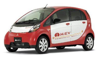 9) Mitsubishi i-MiEv