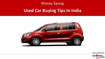 Money saving tips on buying a used car