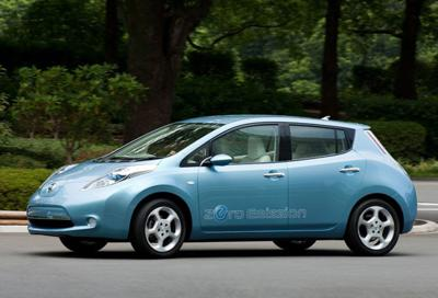 4) Nissan Leaf