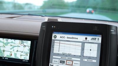 Porsche innodrive cruise control technology