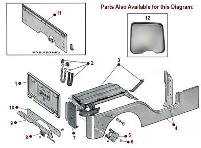 Reconfigurable body panels