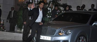 Riteish deshmukh with his car