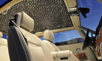 Rolls royce phantom starlight roof