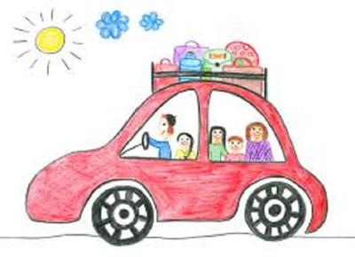 Safe holiday driving tips with kids