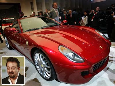 Car Junkie Sanjay Dutt Proud Owner Of Ferrari 599 Gtb Cartrade Blog