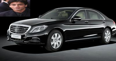 Shahrukh khan owns a bomb proof mercedes s600 guard