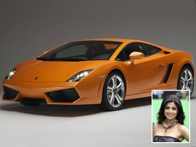 Shilpa shetty and her car