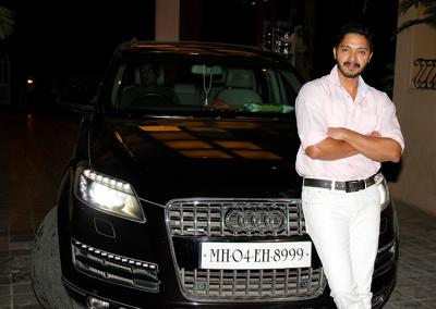 Shreyas talpade joins the league with audi q7