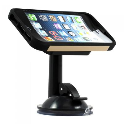 Suction cup smartphone holder