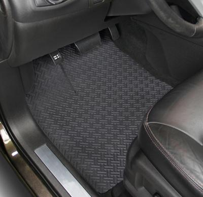 Synthetic rubber mats