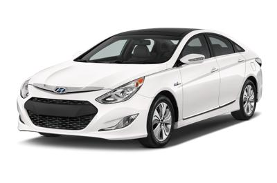The 2015 hyundai sonata hybrid
