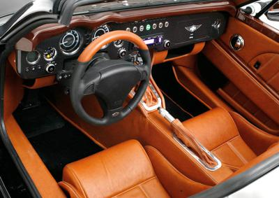 The future of car personalization - changeable car interior colours