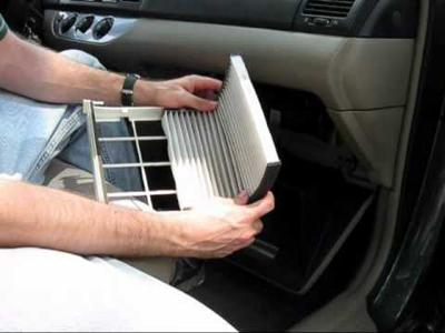 Time to change your vehicles air cabin filter