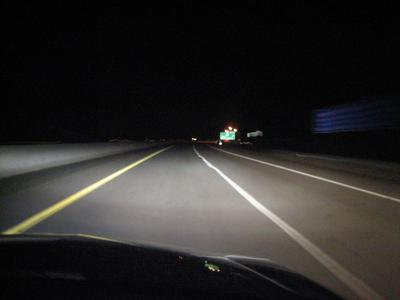Tips for driving safe after dark