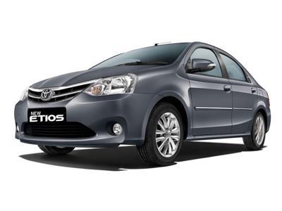 8) Toyota Etios