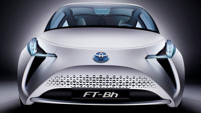 Toyotas hovering car concept