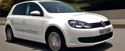 Volkswagen golf e-motion