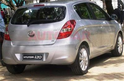Hyundai i20 rear