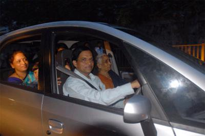 Tata Nano on Road