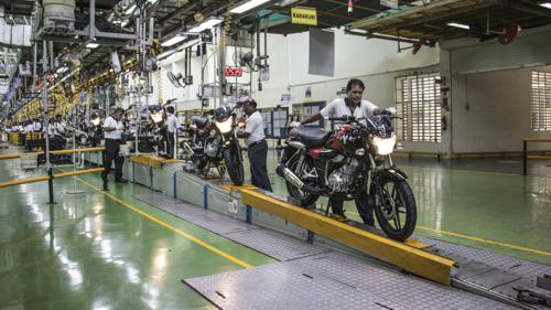 Bajaj V15 off the assembly line