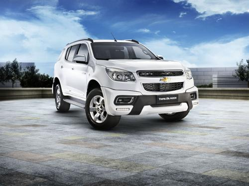 Now book a Chevrolet Trailblazer SUV on Amazon