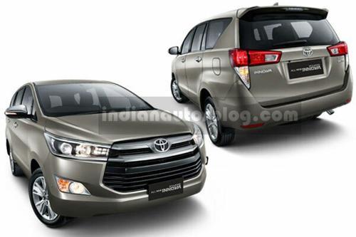 2016 Toyota Innova official image Exterior