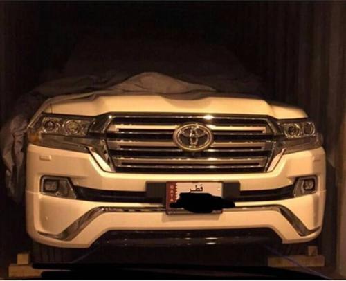 2016 Toyota Land Cruiser VX.S Front