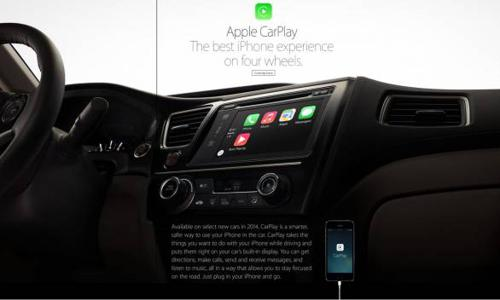 Apple's CarPlay that integrates iPhone with car
