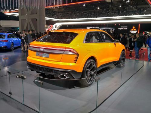 Audi Q8 in Tokyo