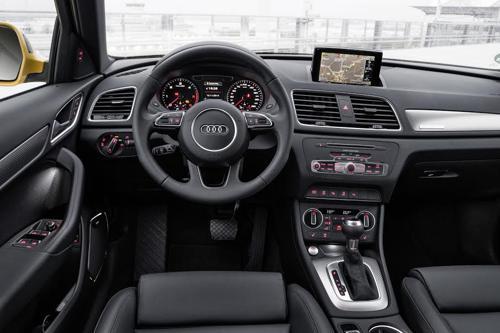 New Audi Q3 interior