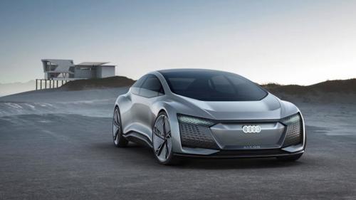 Audi Aicon unveiled at 2017 Frankfurt Auto Show