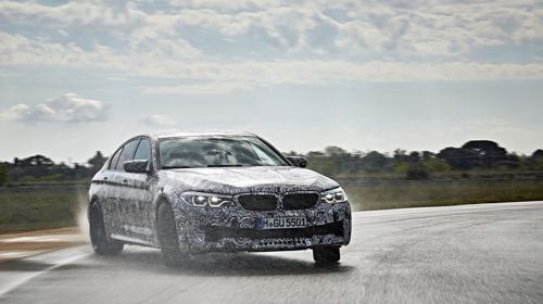 BMW announces xDrive for next gen M5