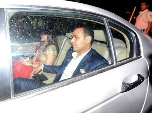 Virender Sehwag owns a Bentley Continental Flying Spur