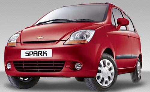 4) Chevrolet Spark