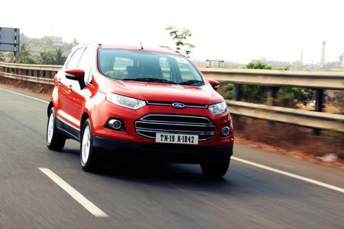 7) Ford Ecosport
