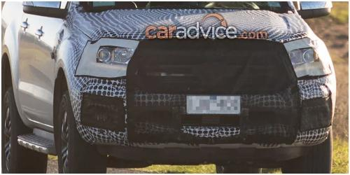 2018 Ford Endeavour - Test mule