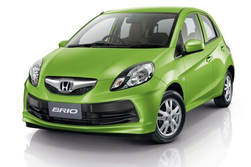 7) Honda Brio