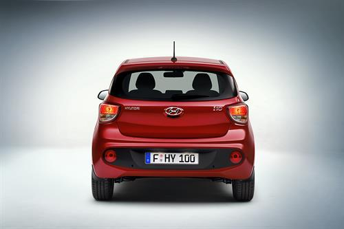Hyundai i10 international rear