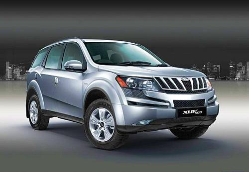 7) Mahindra XUV500