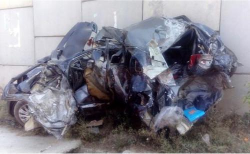Maruti Baleno crashes - four dead, two seriously injured