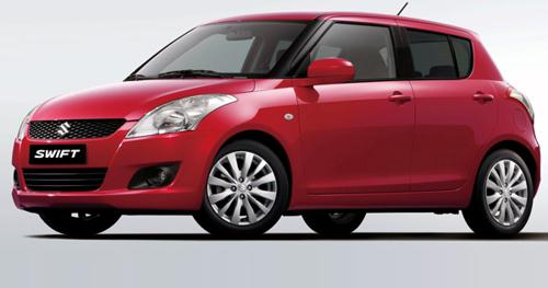 4) Maruti Suzuki Swift