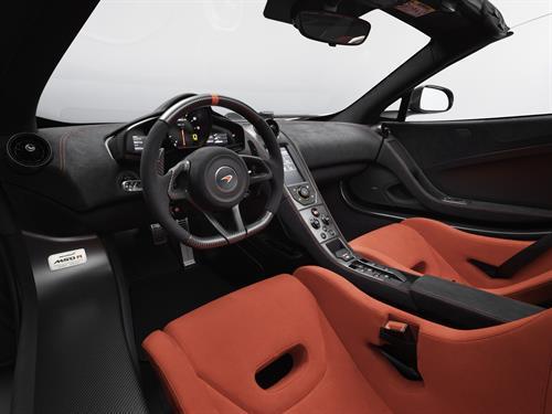 MSO McLaren interior