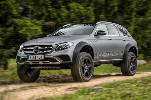 Mercedes-Benz E-Class all-terrain 4x4 concept fron