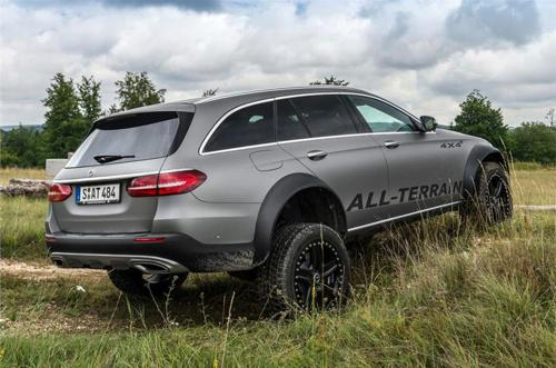 Mercedes-Benz E-Class all-terrain 4x4 concept rear