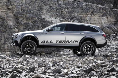 Mercedes-Benz E-Class all-terrain 4x4 concept side