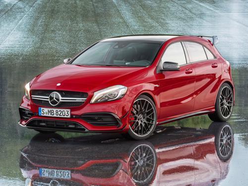 Mercedes-Benz A45 AMG next-gen