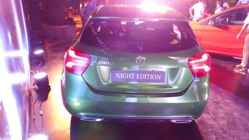 A-Class Night Edition rear