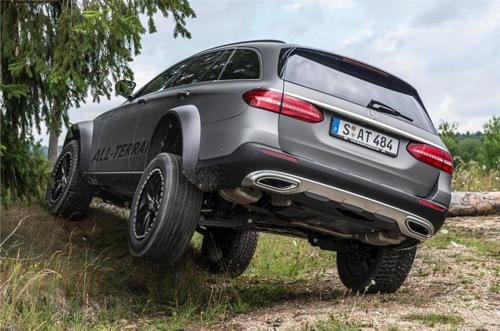Mercedes-Benz E-Class 4x4 concept ground clearance