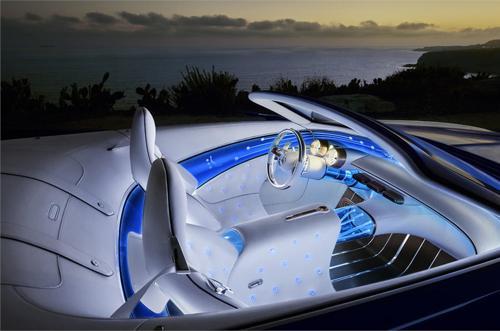 Mercedes-Maybach 6 Cabriolet electic interior